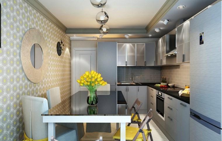 ideas-diseno-cocinas-estrechas-opciones