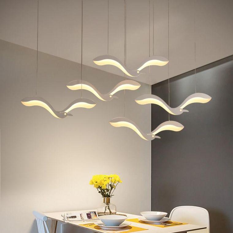 iluminación led diseño aves