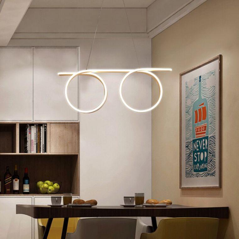 iluminación led estilo minimalista