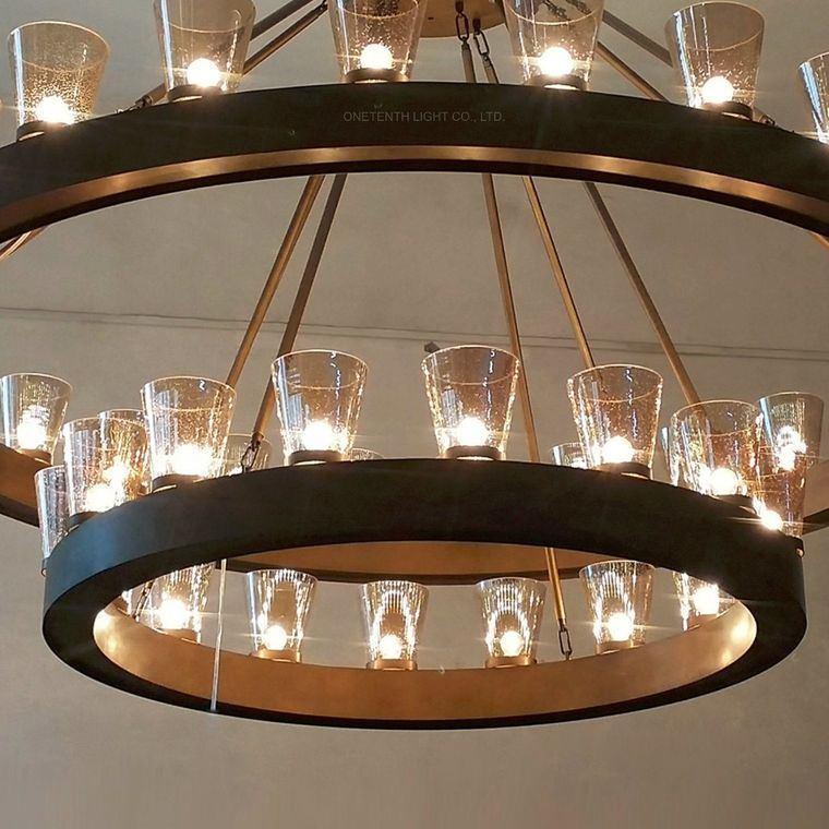 iluminación led metal vidrio
