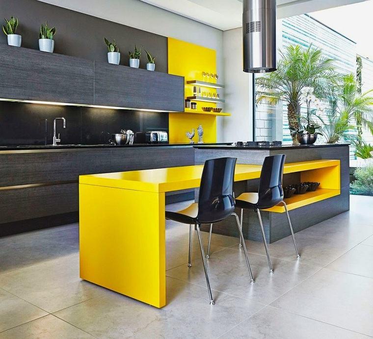 isla-cocina-grande-gris-amarillo