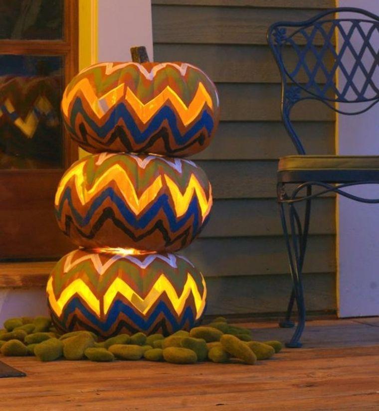 la tradición bricolaje calabazas