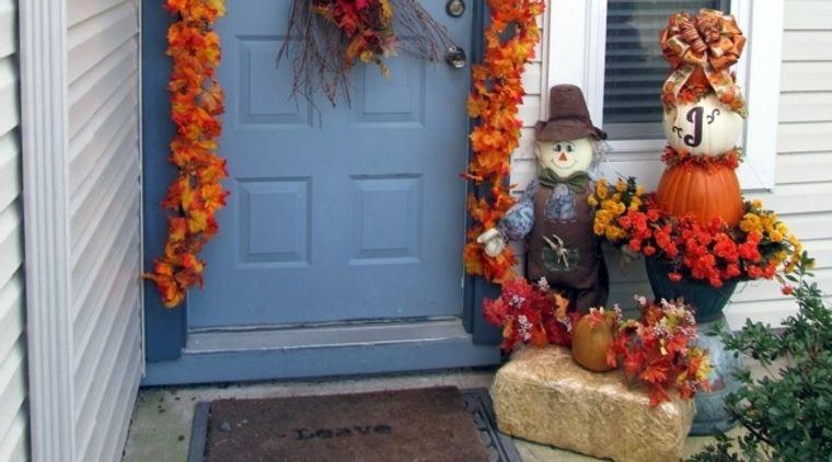 la tradición calabazas en otoño