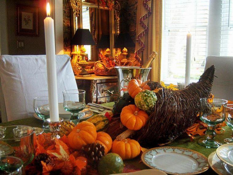 la tradición decoracion accion de gracias