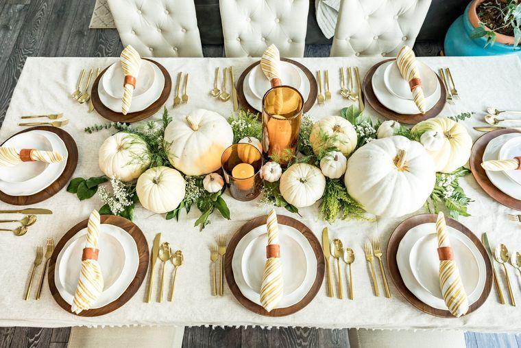 la tradición decoracion otoño