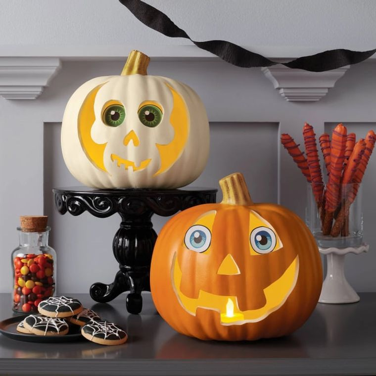 la tradición halloween calabazas divertidas