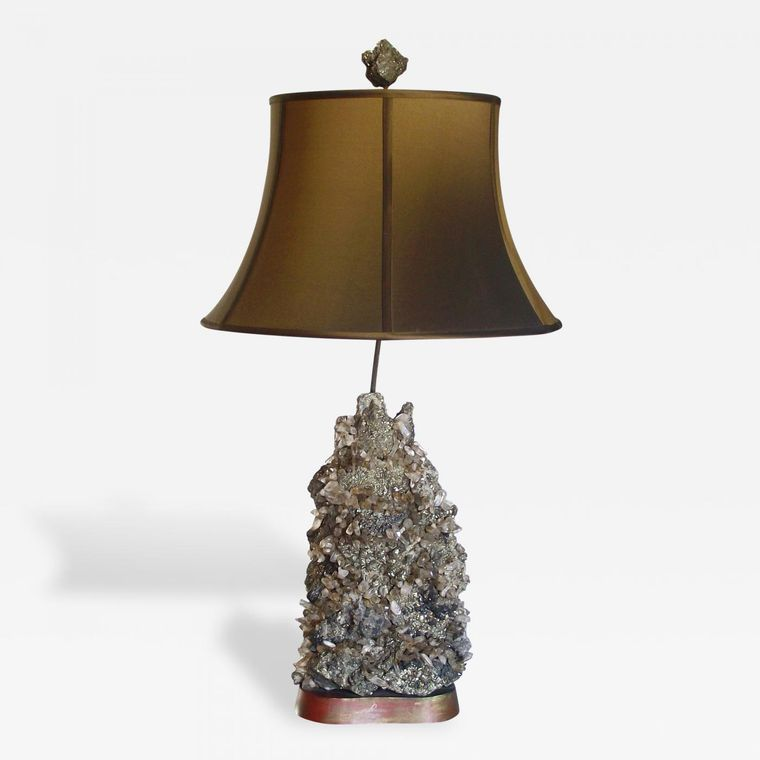 lámparas de mesa con cristal