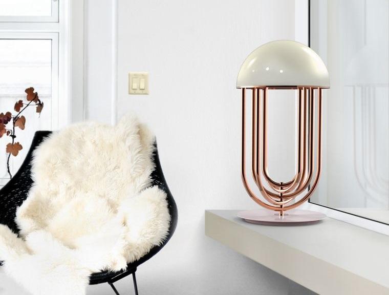 lámparas de mesa contemporaneas