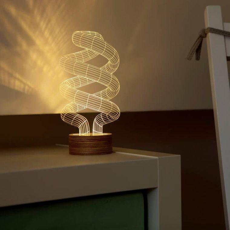 lámparas de mesa creativas originales