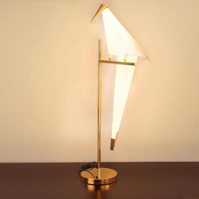 lámparas de mesa diseño ave