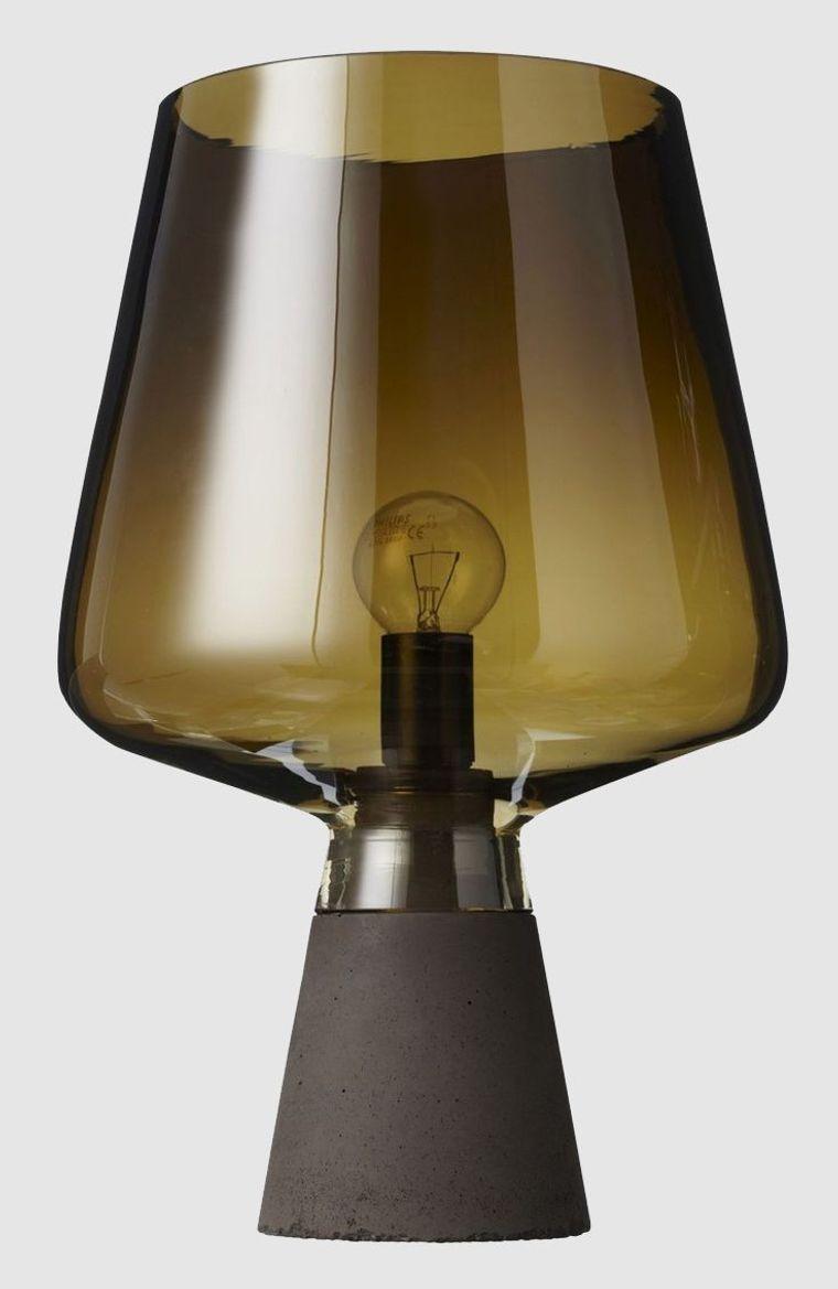 lámparas de mesa diseño copa