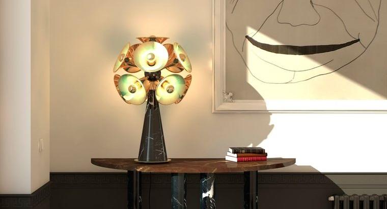 lámparas de mesa original