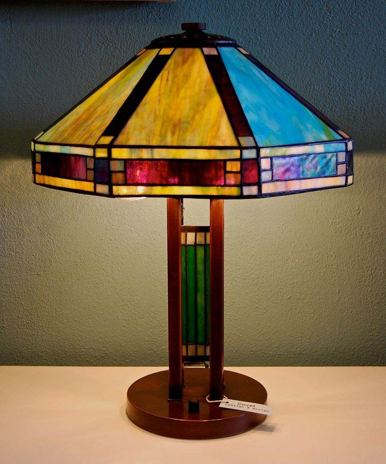 lámparas de mesa tifany
