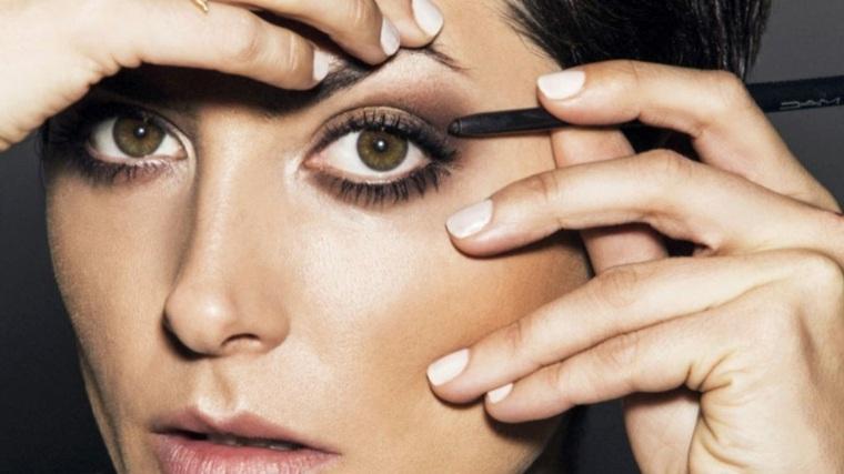 maquillaje de día-noche-estilo-ahumado