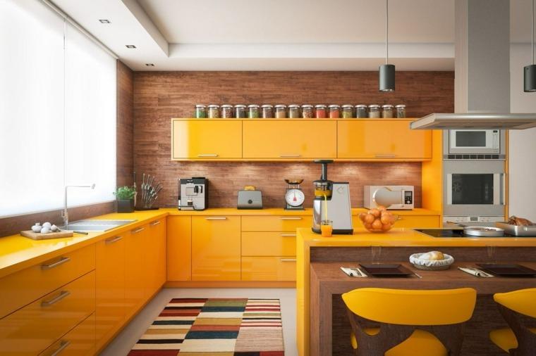 muebles-cocina-colores-brillantes