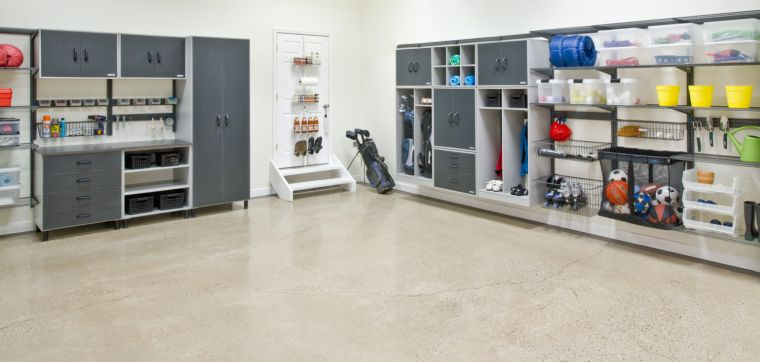 organize garage-cabinets