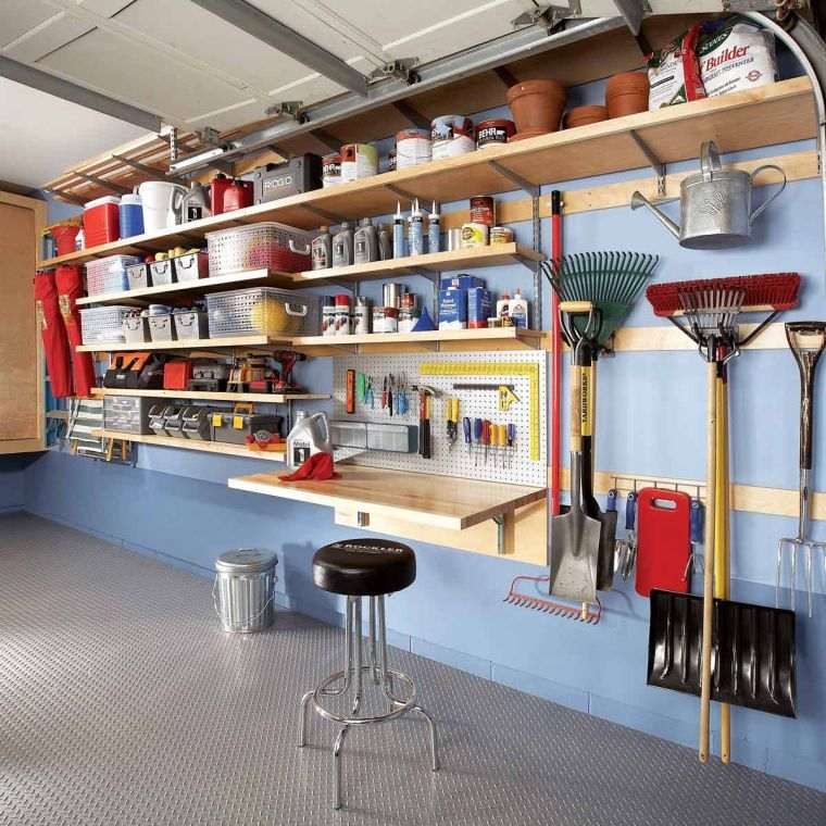 organize garage-interior-design