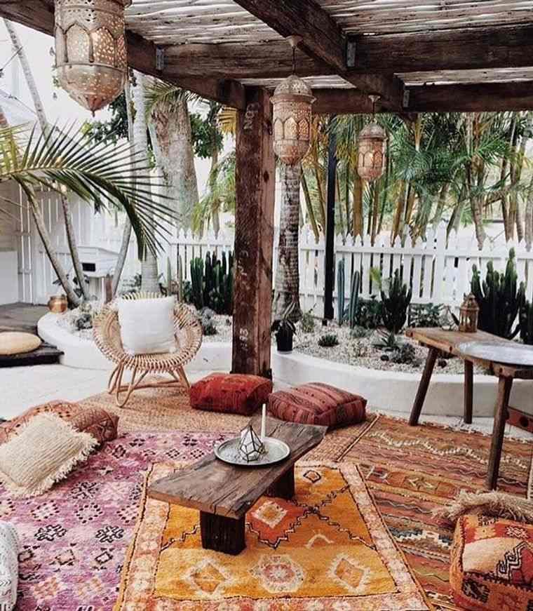 porches con encanto capas textiles