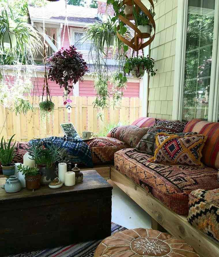 porches con encanto muebles