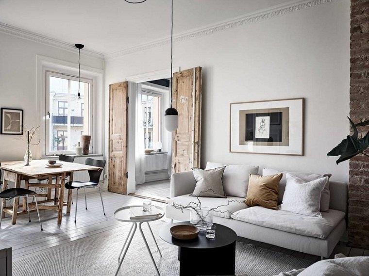 puerta-madera-salon-escandinavo