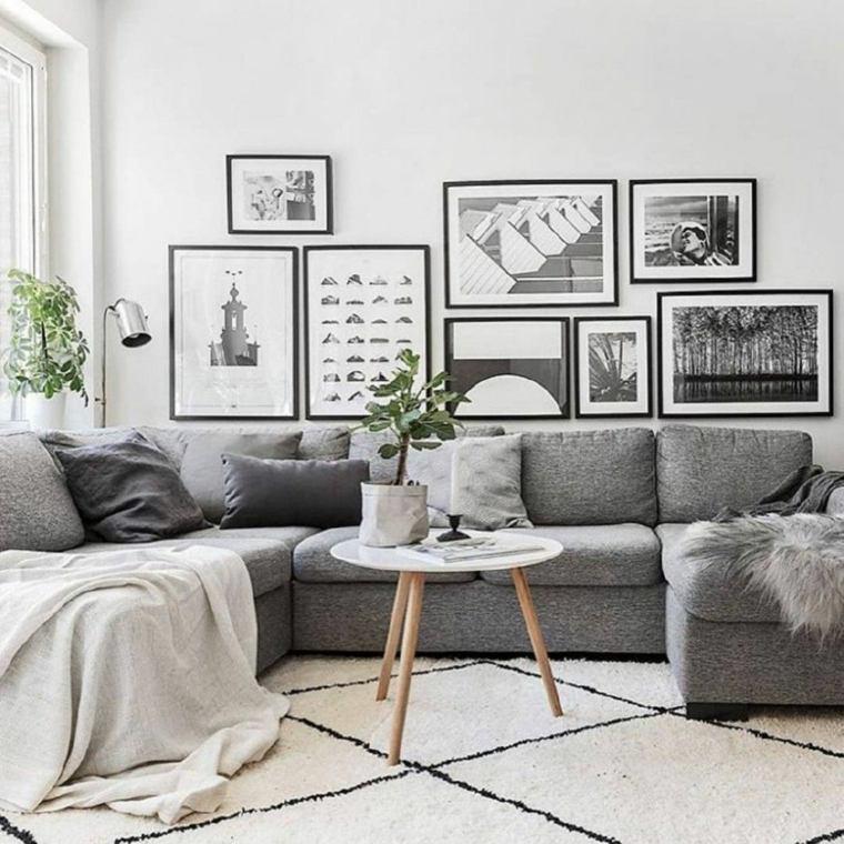 salón estilo escandinavo-ideas-mesita