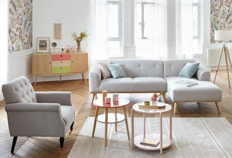salón estilo escandinavo opciones