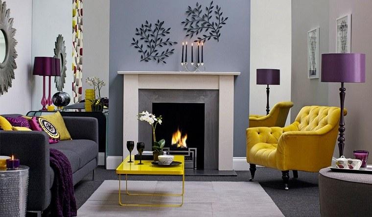 sillones modernos-color-amarillo