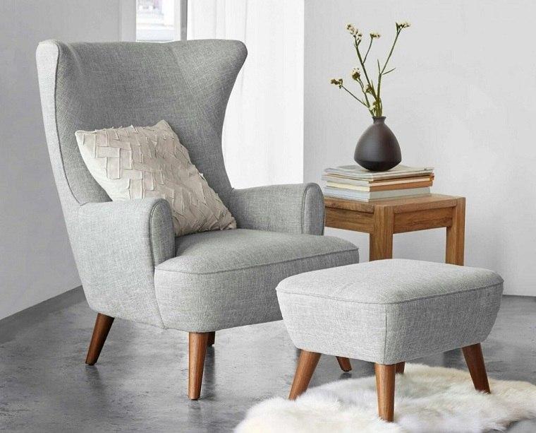 sillones modernos-color-gris