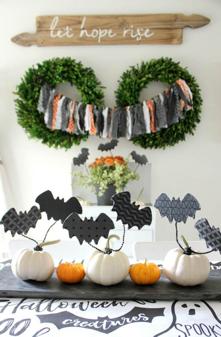 Centros-de-mesa-de-Halloween-aranas-calabazas