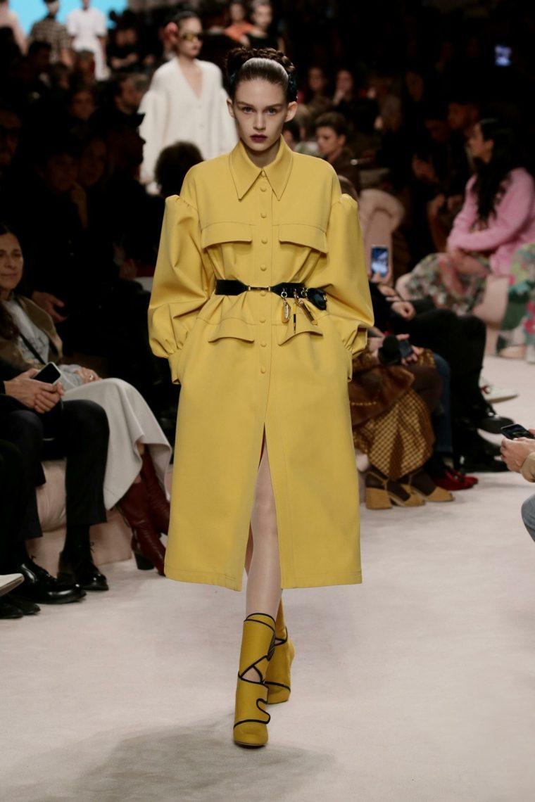 Fendi-abrigo-amarillo-ideas