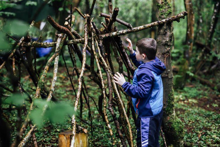 actividades de aventura con palos