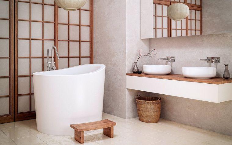 bañeras japonesas baño caliente