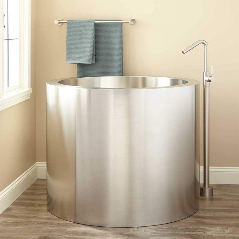bañeras japonesas de acero