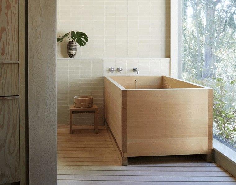 bañeras japonesas madera
