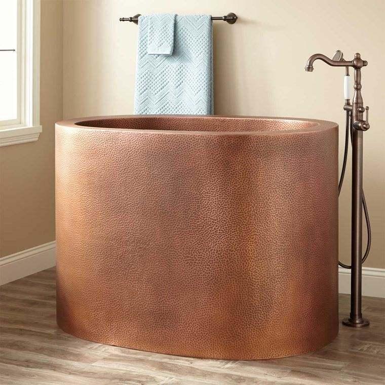 bañeras japonesas ovaladas