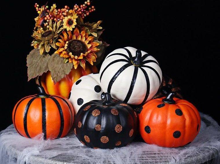 calabazas decoradas halloween