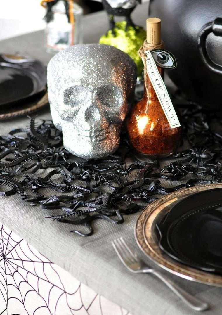 calabazas-decorar-mesa-halloween