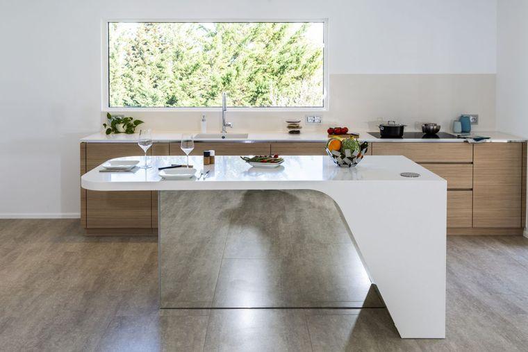 cocinas con isla diseños originales