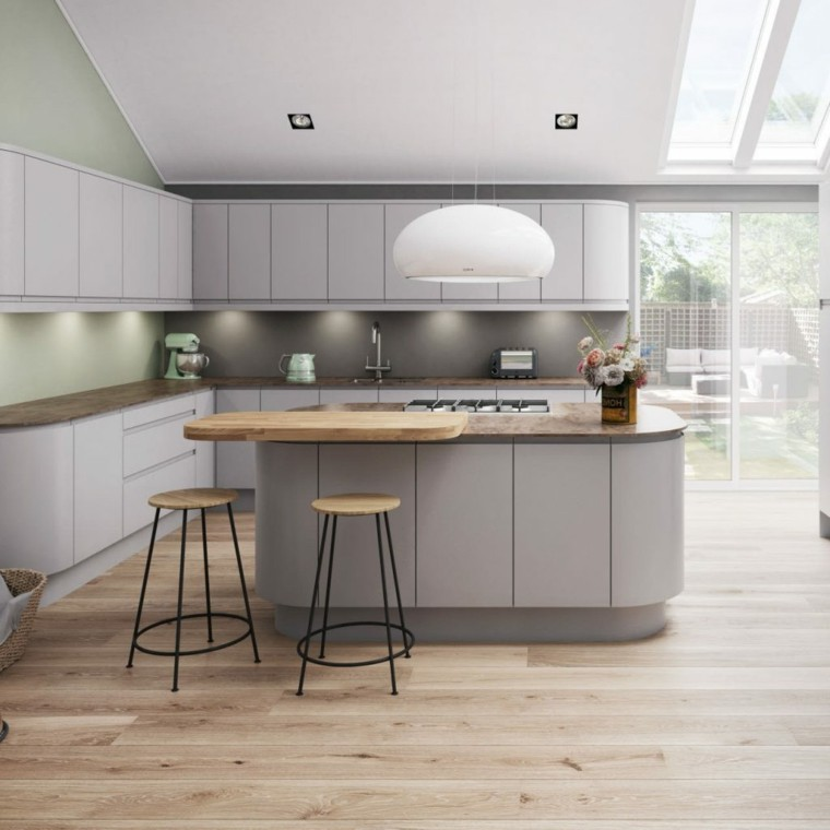 color-gris-paloma-cocina-isla-diseno