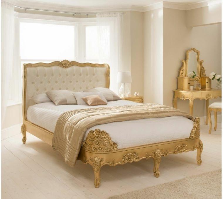decoración vintage dorado