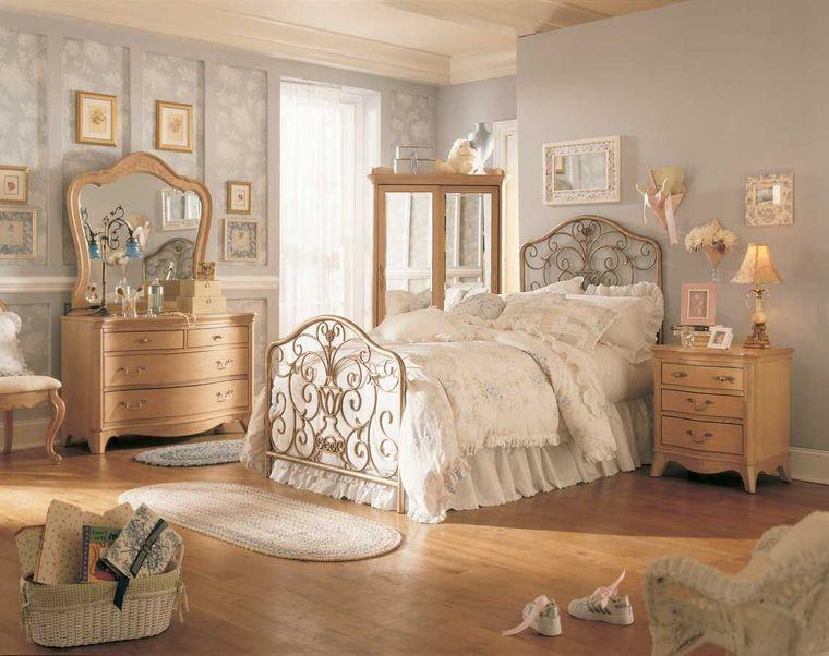 decoración vintage dormitorio