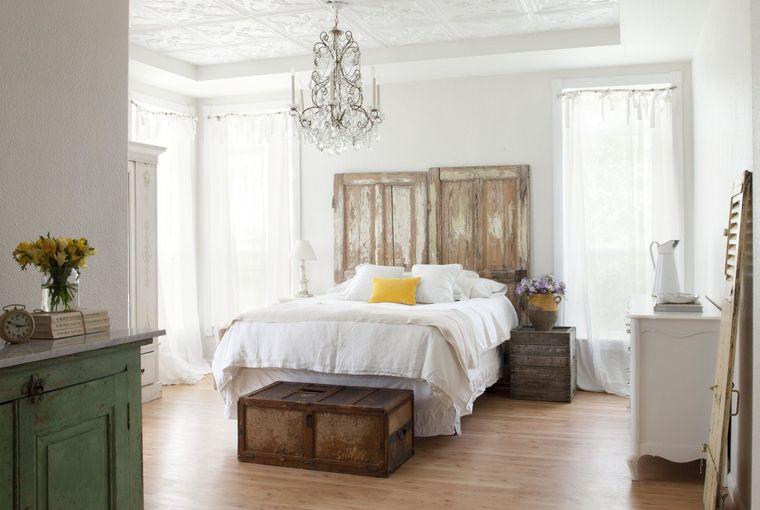 decoración vintage estilo dormitorio
