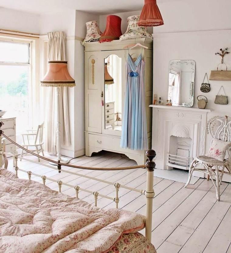 decoración vintage habitacion dama