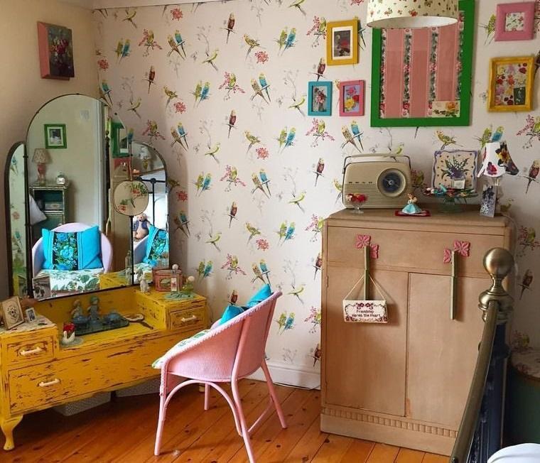decoración vintage muebles