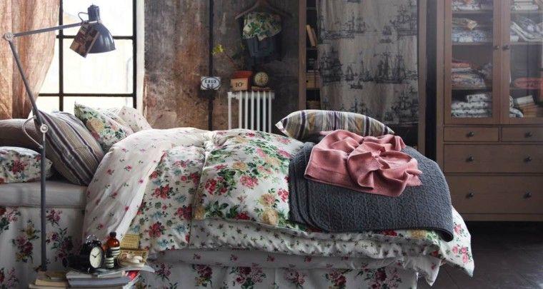 decoración vintage ropa de cama