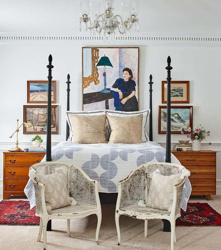 decoración vintage sillas antiguas
