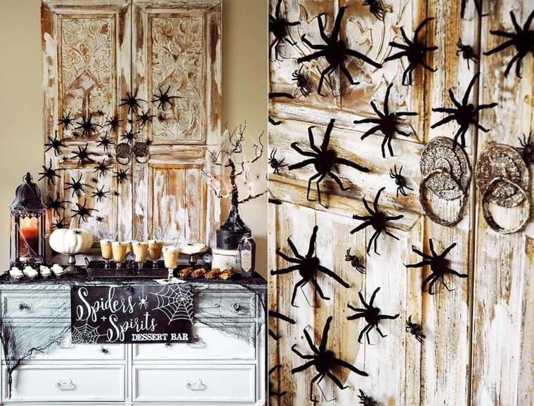 decorar-mesa-halloween-aranas-estilo