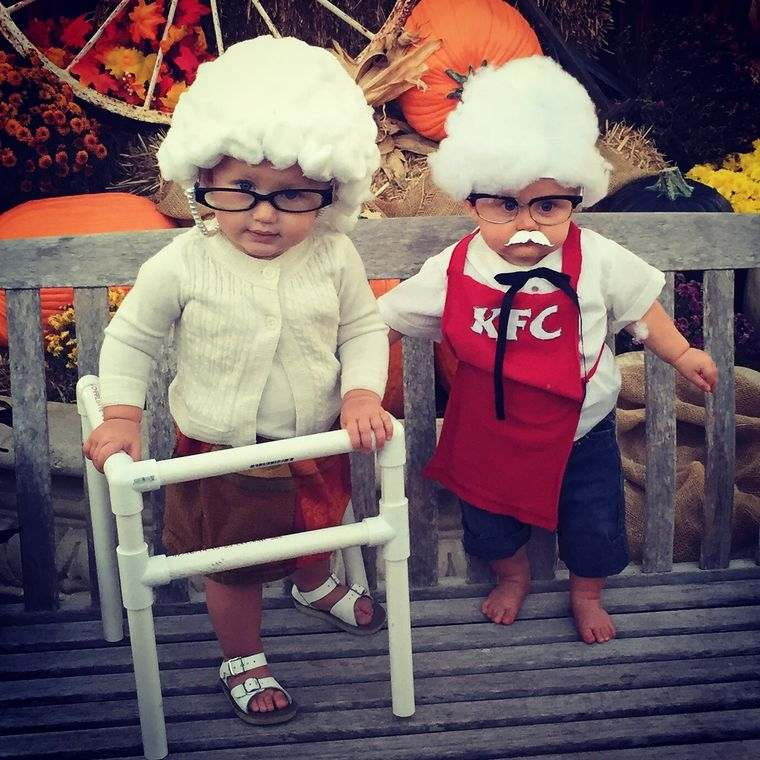 disfraces halloween abuelitos