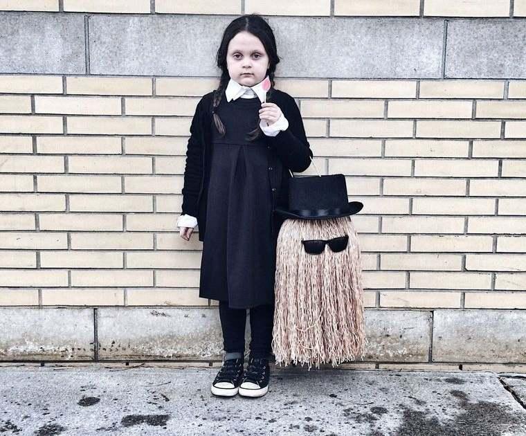 disfraces halloween merlina