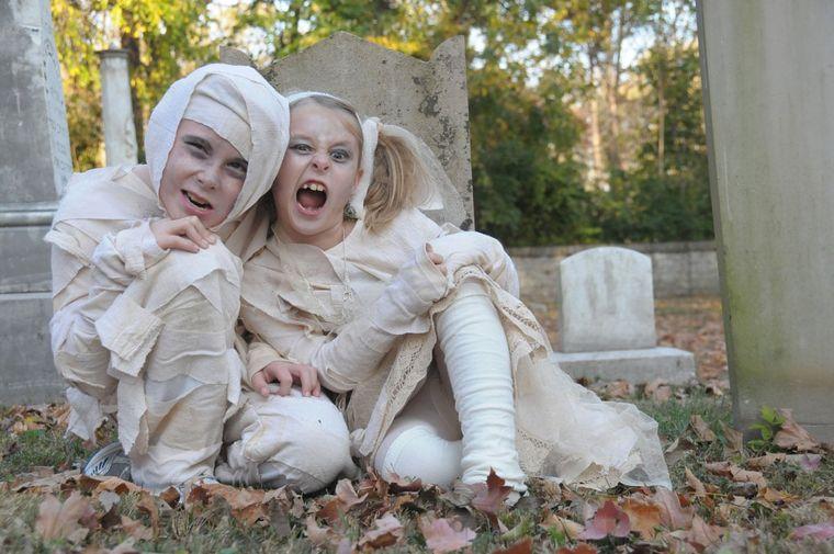 disfraces halloween momia